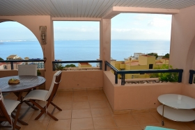 Rented! Bright apartment with sea views in Illetes