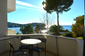 Sold! Studio with sea views recently renovated in Santa Ponsa