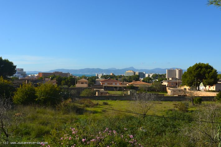 Sold! Building plot with nice views of the bay of Palma