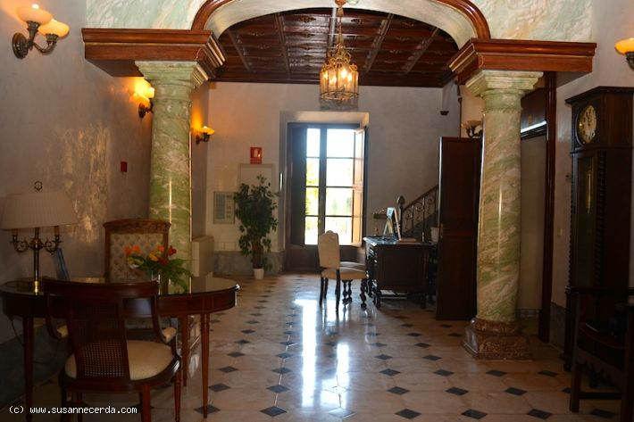 Historic hotel with beautiful garden areas and panoramic views